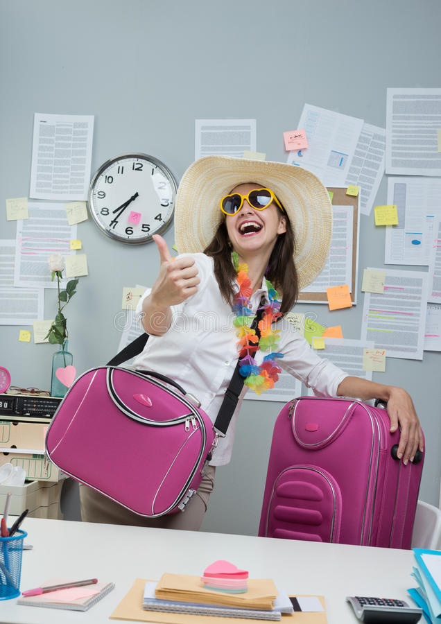 准备好的假期 免版税库存照片