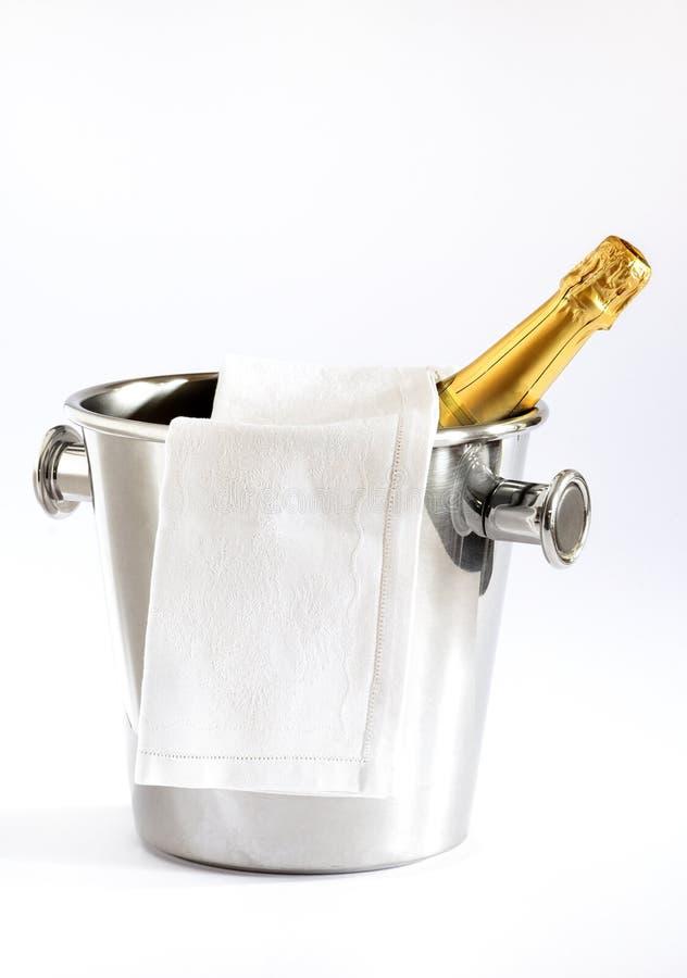 准备好的香槟 免版税库存图片