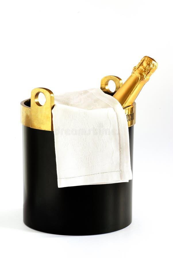 准备好的香槟 图库摄影