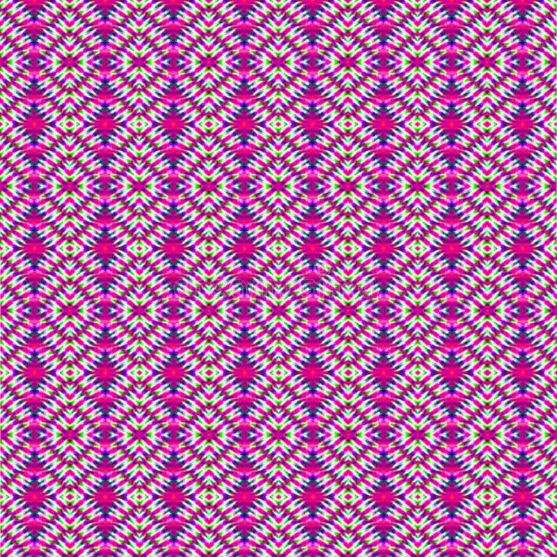 凉快的波浪2 -领带在多种颜色的染料背景 免版税图库摄影