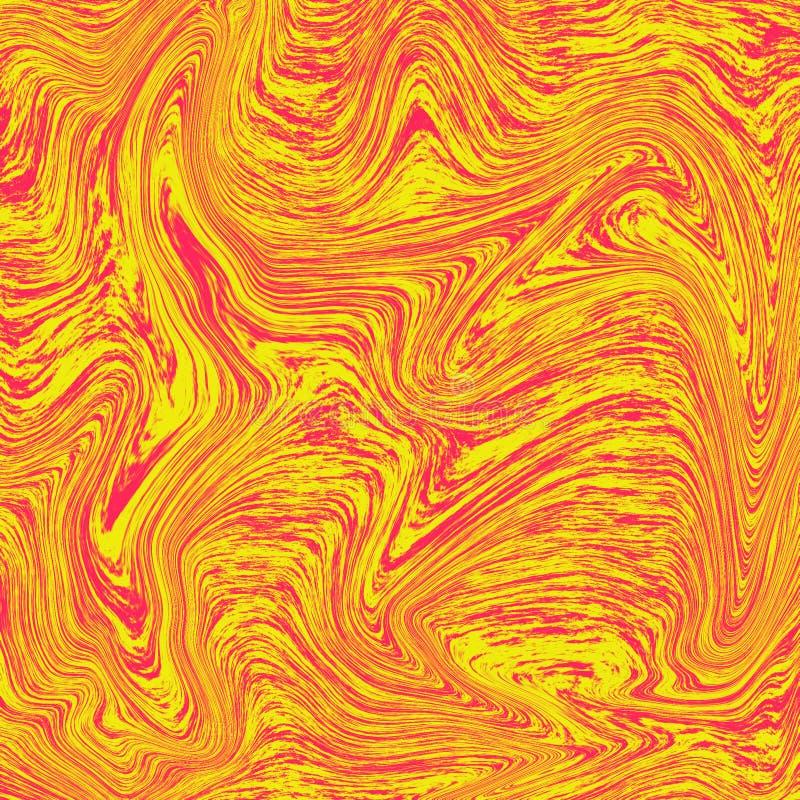 凉快的液体大理石熔岩背景 向量例证