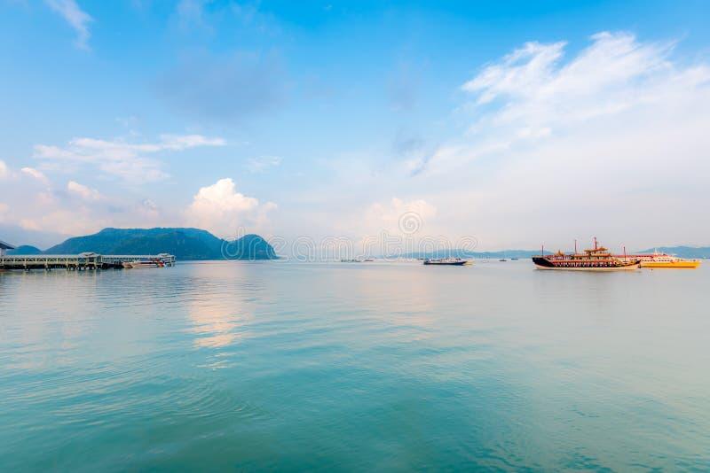 凌家卫岛海岛马来西亚 免版税库存图片