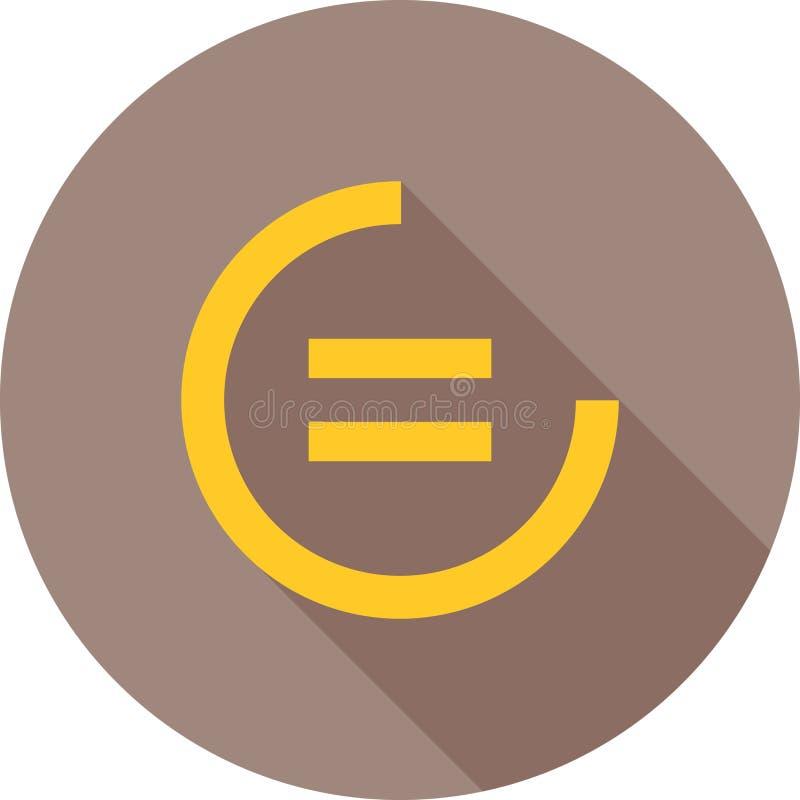 减少的不平等 库存例证