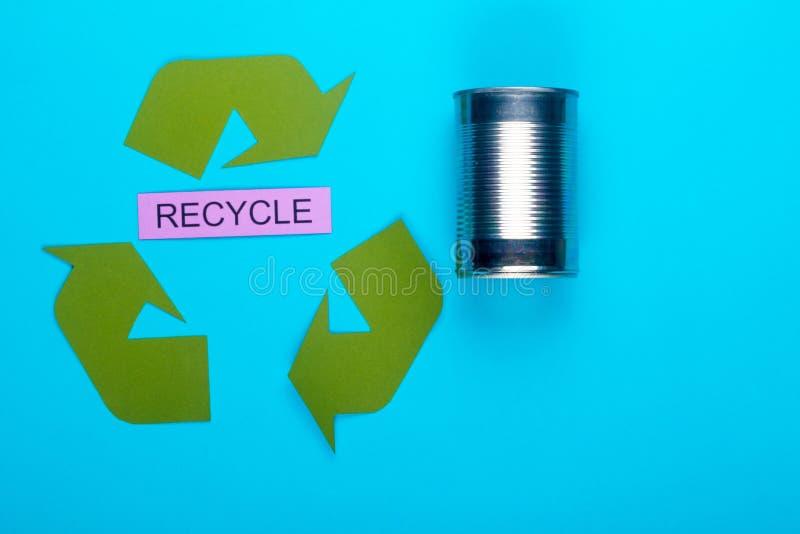 减少,重复利用&回收 免版税库存图片