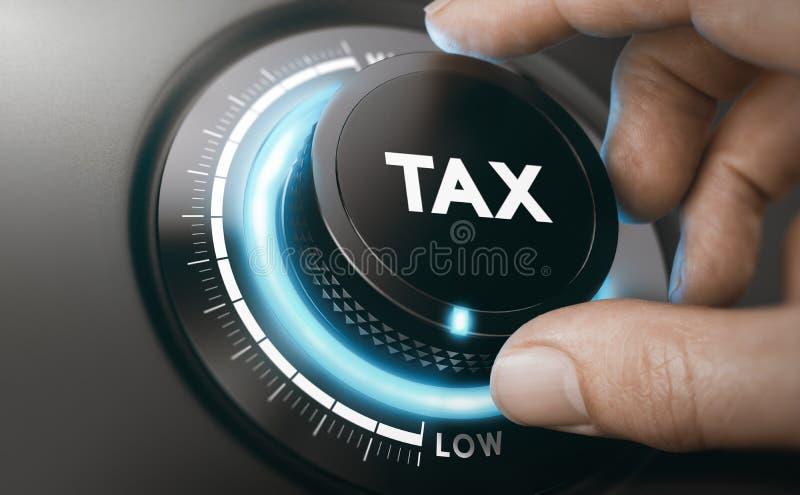 减税服务 降低应税收入 免版税图库摄影