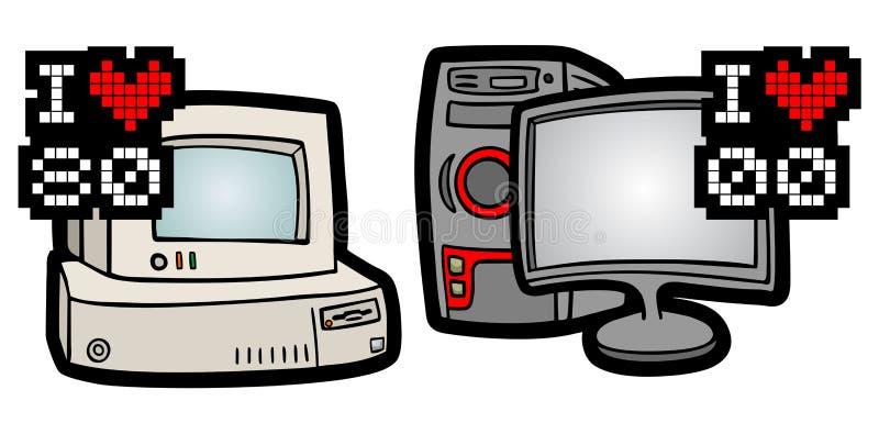 Download 减速火箭和现代计算机 向量例证. 插画 包括有 比较, 图标, 硬件, 符号, 技术, 表示, 镇痛药, 故障 - 30338104