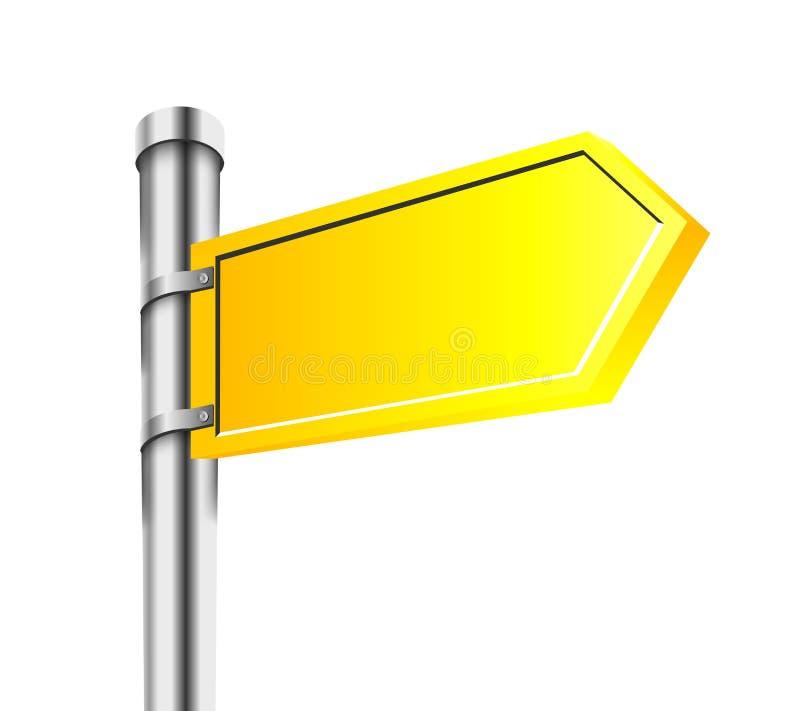 减速火箭的书法设计要素 库存例证