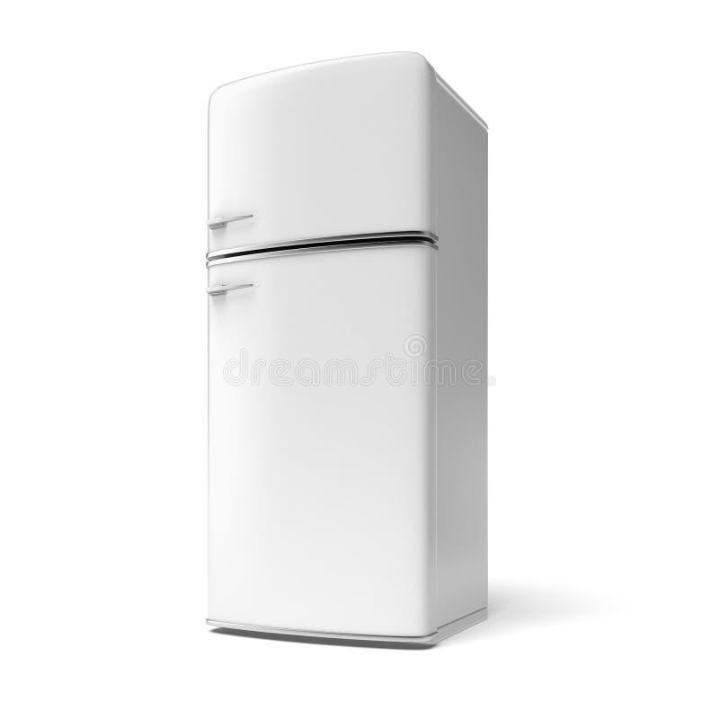 减速火箭的冰箱 库存例证