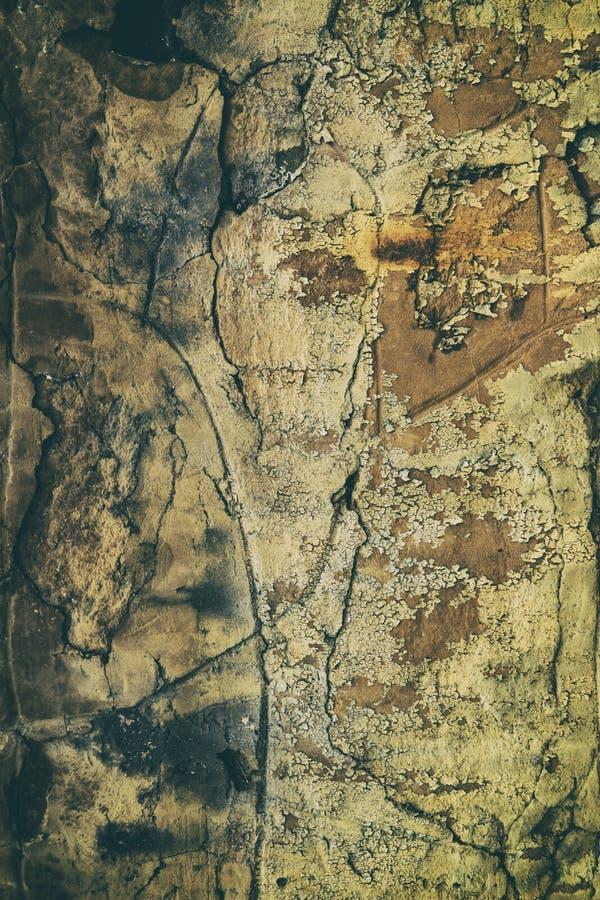 减速火箭的古色古香的脏的墙壁,伟大为背景 免版税库存照片