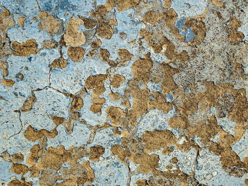 减速火箭的古色古香的脏的墙壁,伟大为背景 库存图片