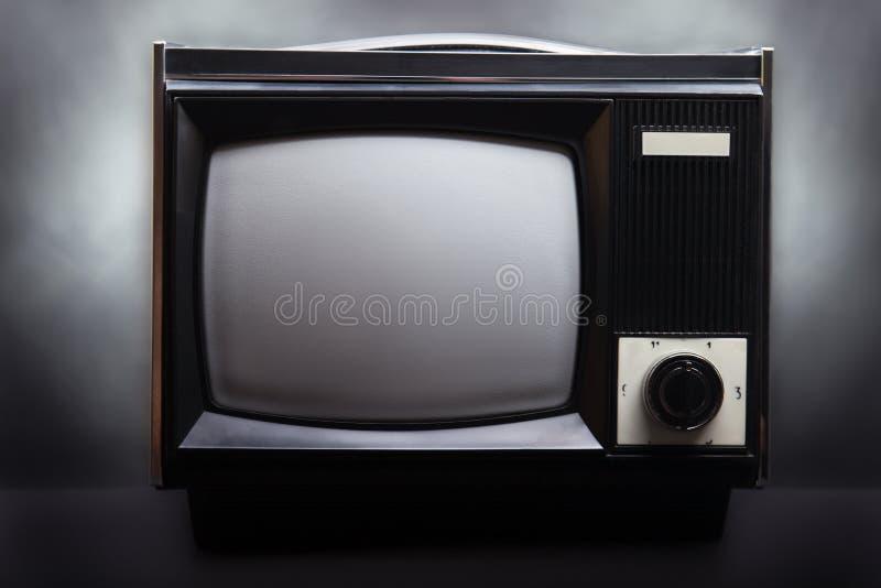 减速火箭的屏幕电视 库存图片