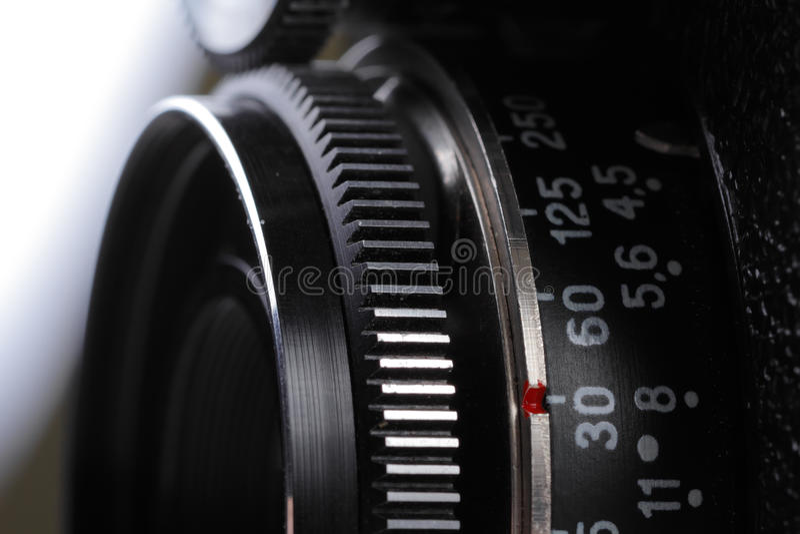 减速火箭的影片摄象机镜头 免版税库存图片
