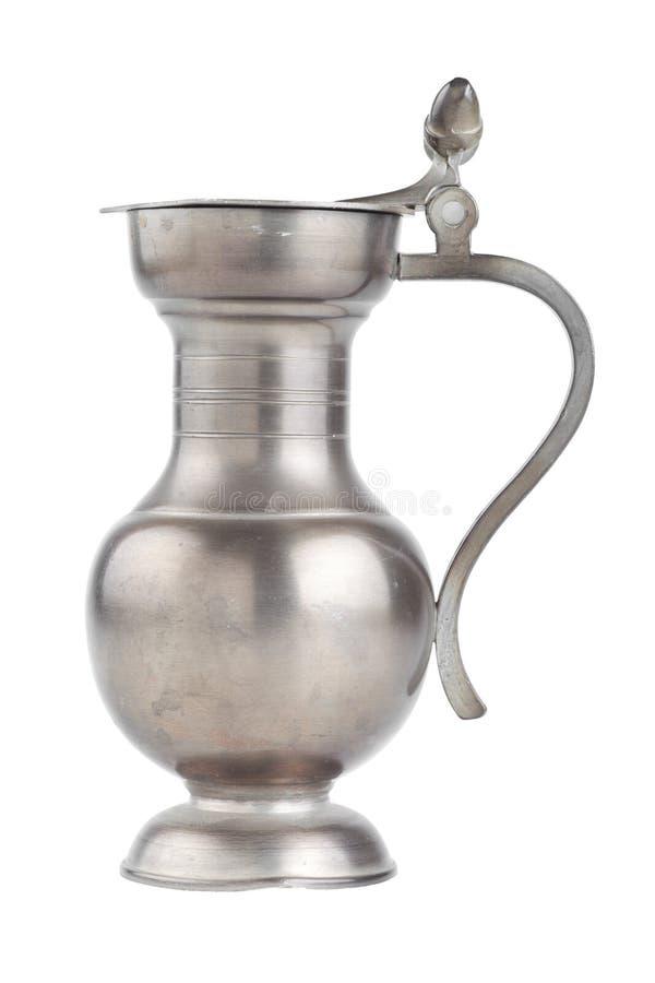 减速火箭的水罐,查出在白色 免版税图库摄影