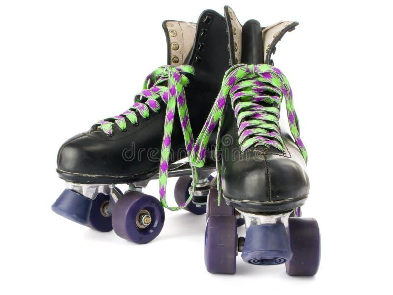 减速火箭的溜冰鞋 免版税库存图片
