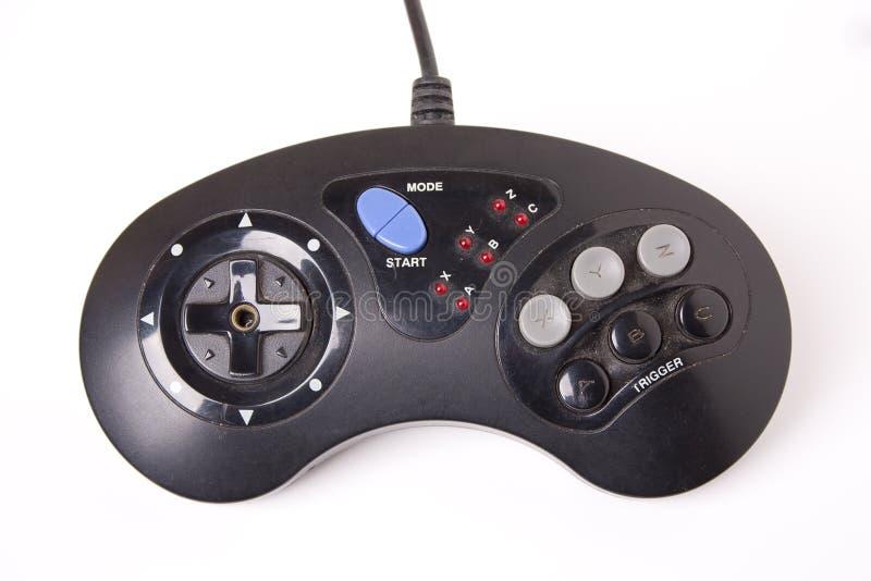 减速火箭的电子游戏控制器 库存图片