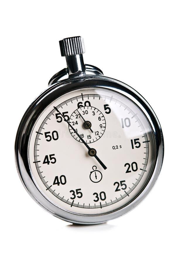 减速火箭的秒表 免版税库存照片