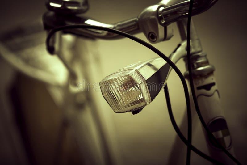 减速火箭的自行车,被定调子的艺术性 免版税库存照片