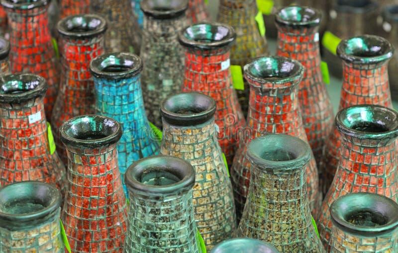 减速火箭的花瓶 免版税库存图片