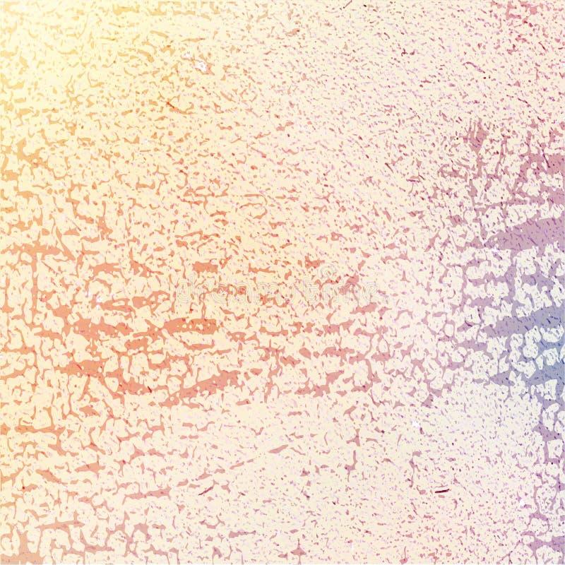 减速火箭的葡萄酒纸纹理,传染媒介背景 脏的设计 C 皇族释放例证