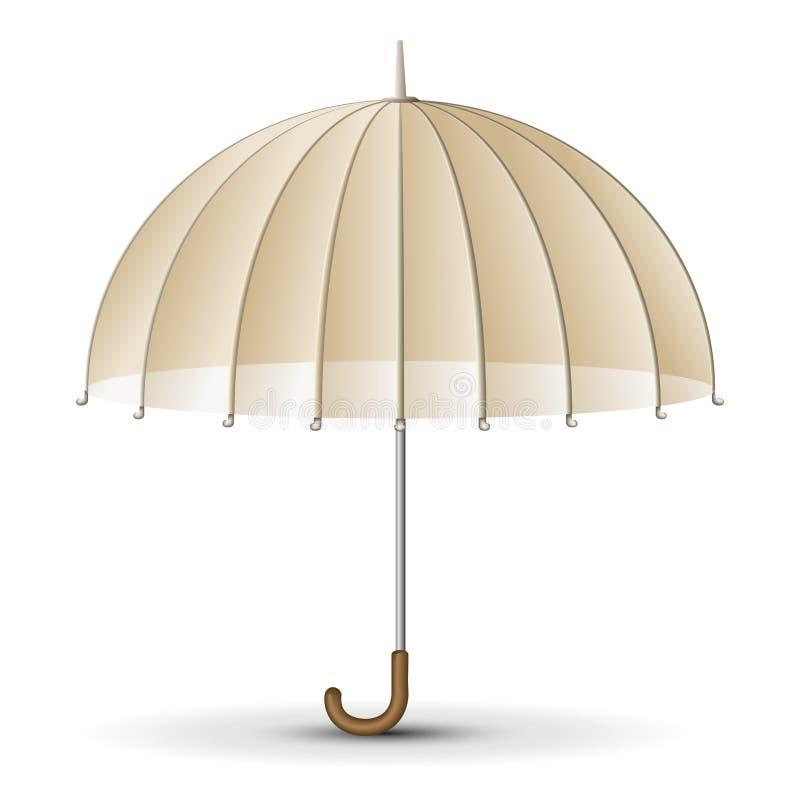 减速火箭的阳伞 向量例证