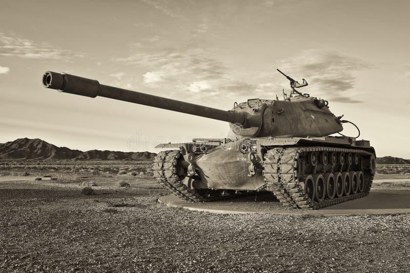 减速火箭的陆军坦克 库存图片