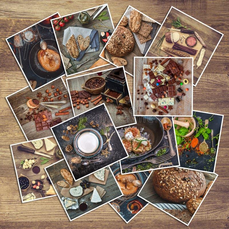 减速火箭的食物照片 图库摄影