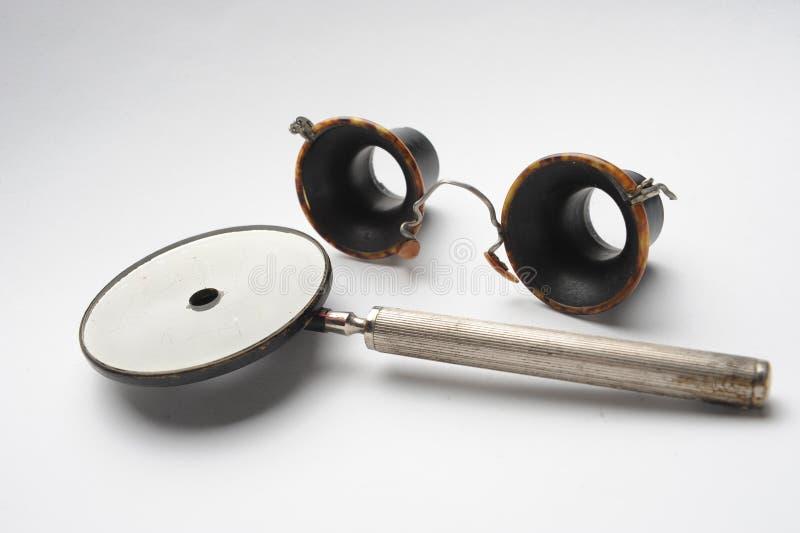 减速火箭的仪器眼镜师 免版税库存照片