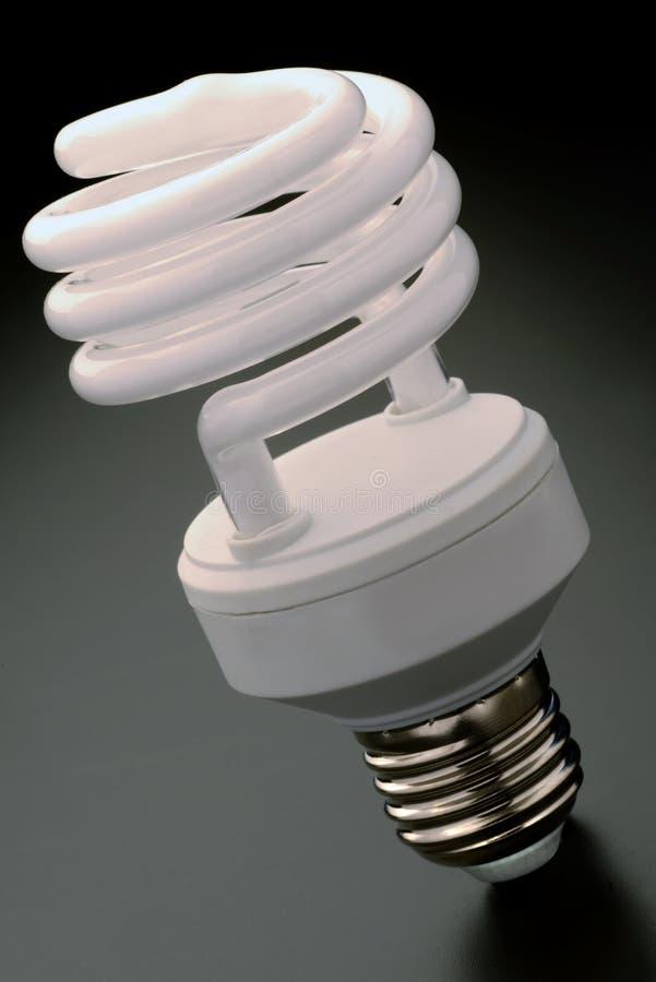 紧凑荧光灯电灯泡 免版税库存图片