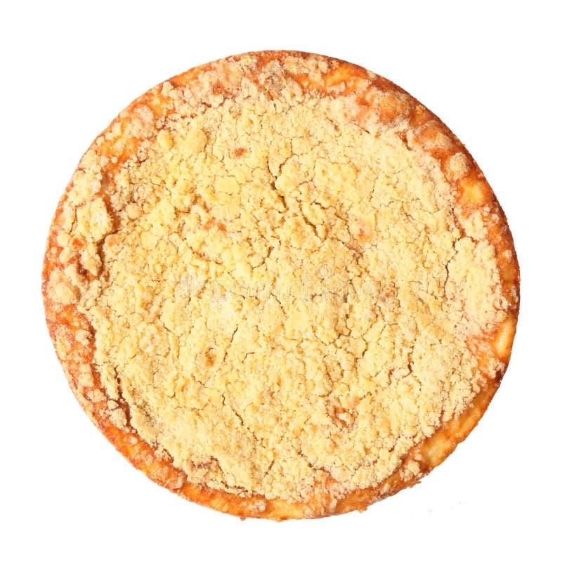 凝乳饼顶视图 免版税库存图片