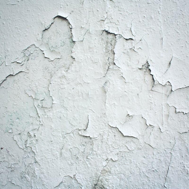 凝结面-葡萄酒照片上的破裂的油漆 库存照片
