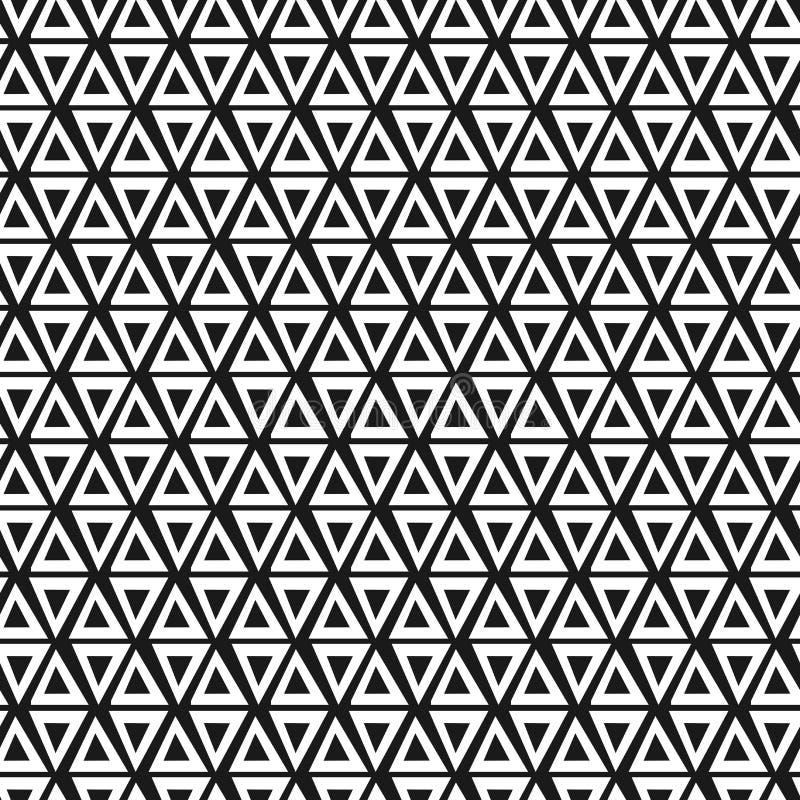 几何三角无缝的样式 时尚图形设计 也corel凹道例证向量 背景设计 现代时髦的摘要 皇族释放例证