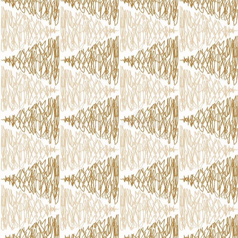 几何三角箭头无缝的纹理 库存例证