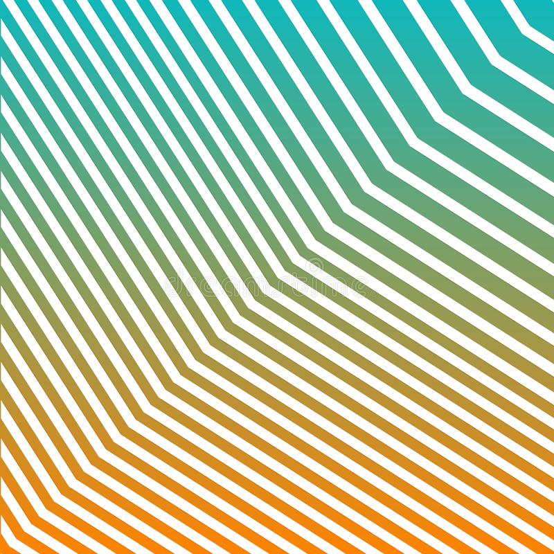 几何之字形线梯度背景 现代抽象样式Eps10传染媒介 皇族释放例证
