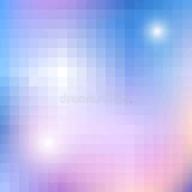 几何光亮的样式 皇族释放例证