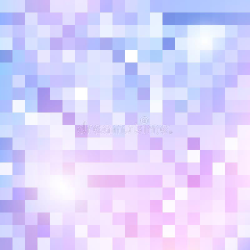 几何光亮的样式 向量例证