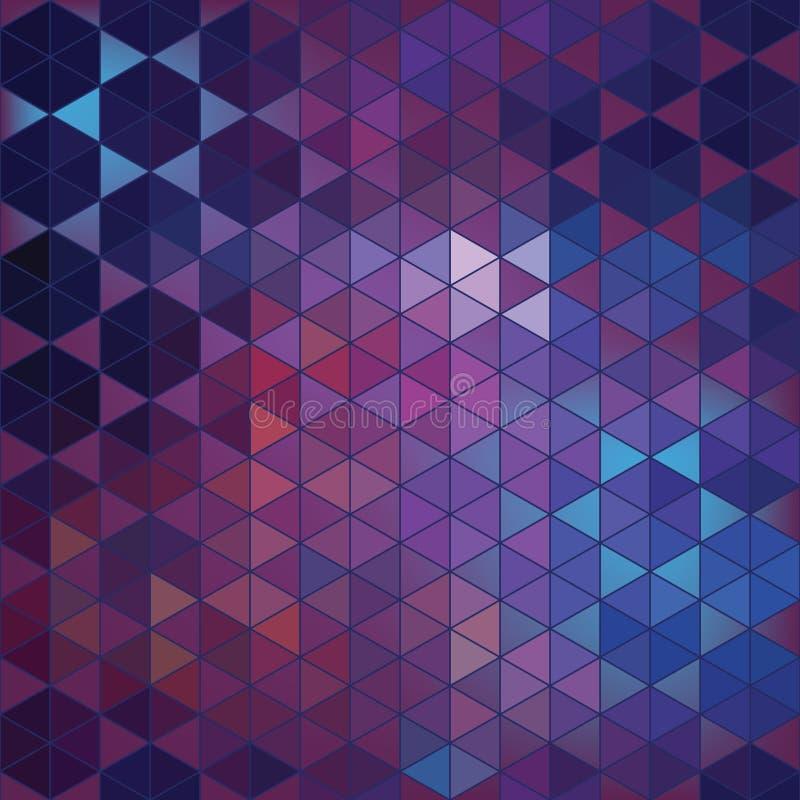 几何六角形摘要背景 免版税库存图片