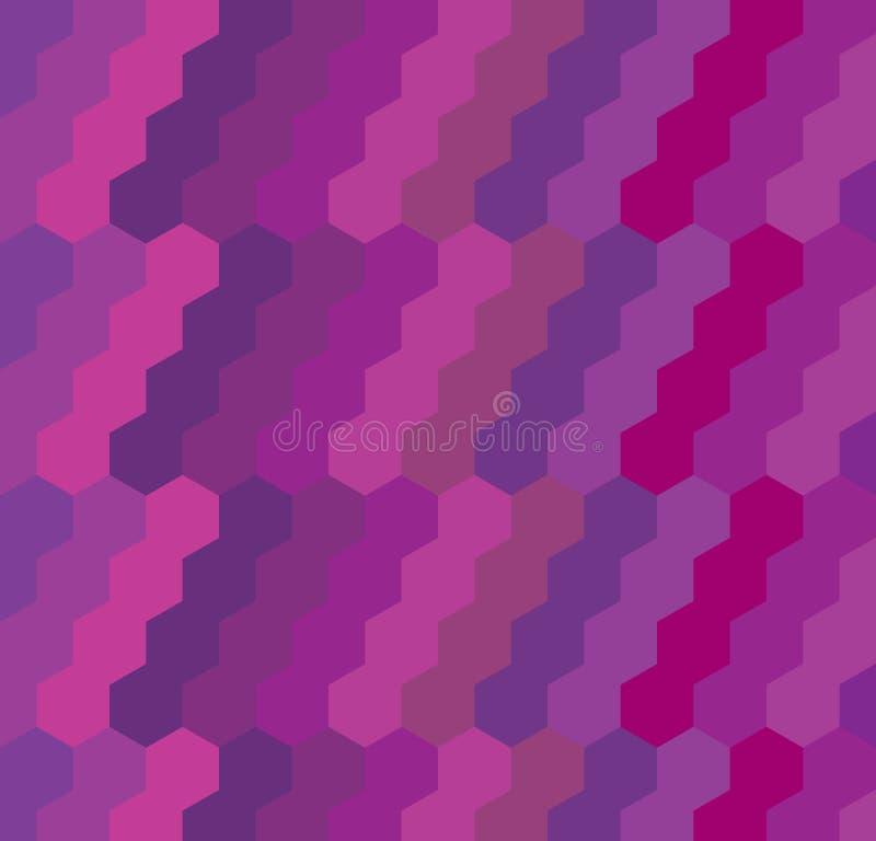 几何六角形背景 图库摄影