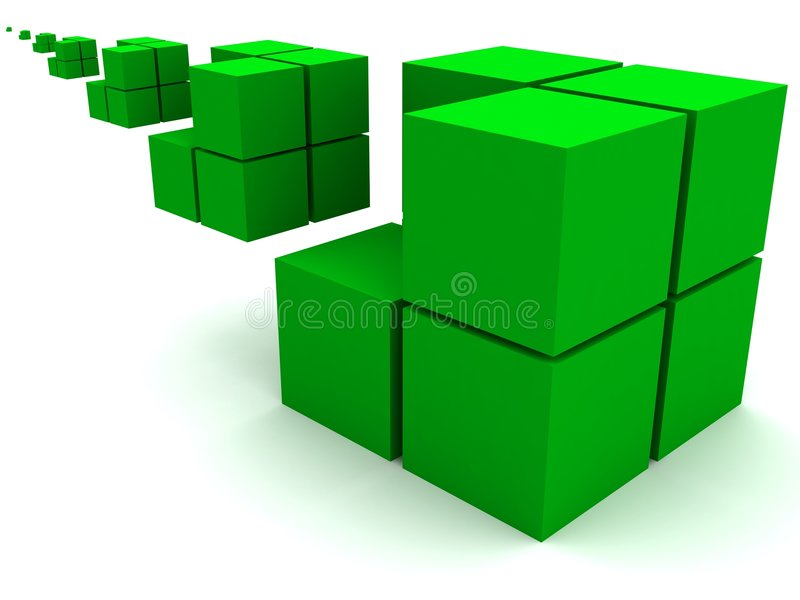 几何图象 皇族释放例证