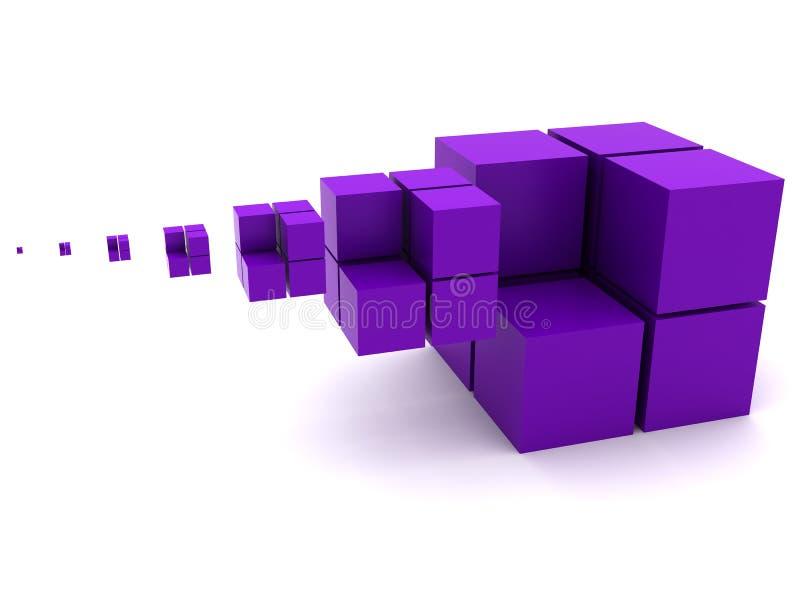 几何图象 库存例证