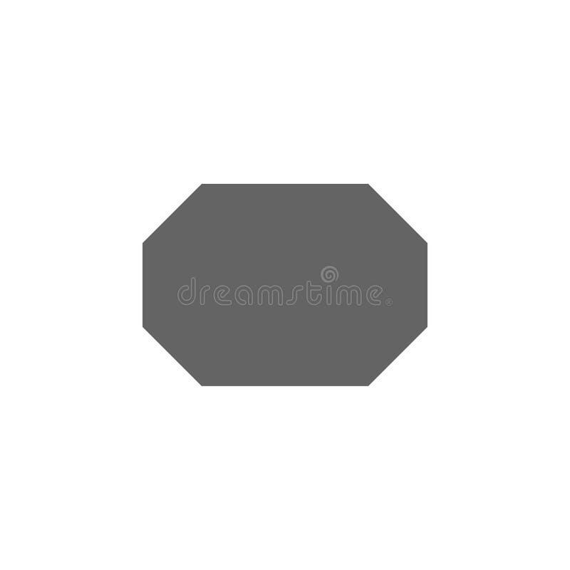 几何图,八角形物象 几何图例证象的元素 E 库存例证