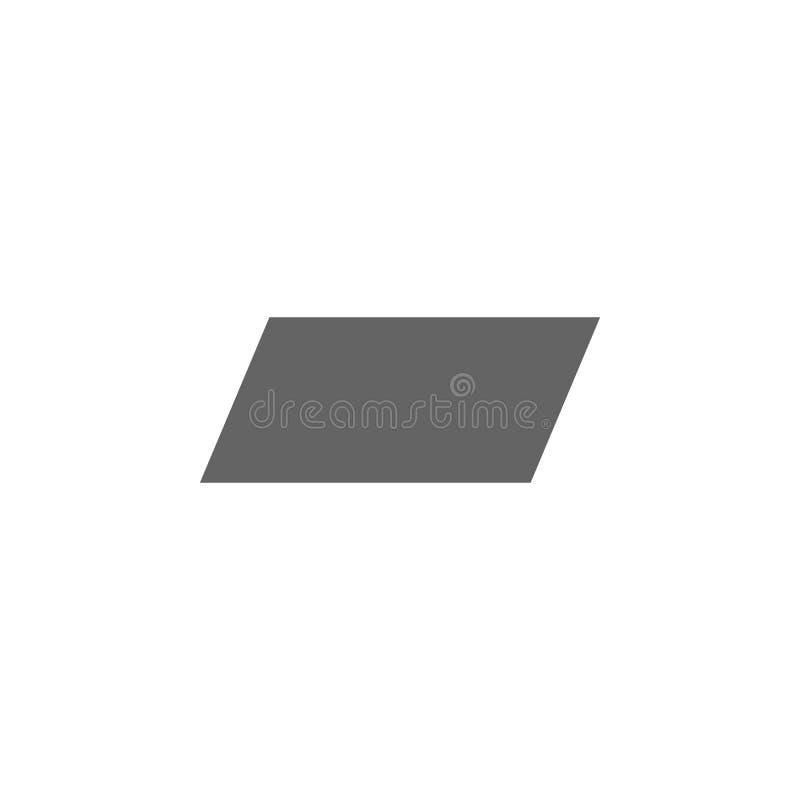 几何图,平行四边形象 几何图例证象的元素 标志和标志可以为网使用, 皇族释放例证