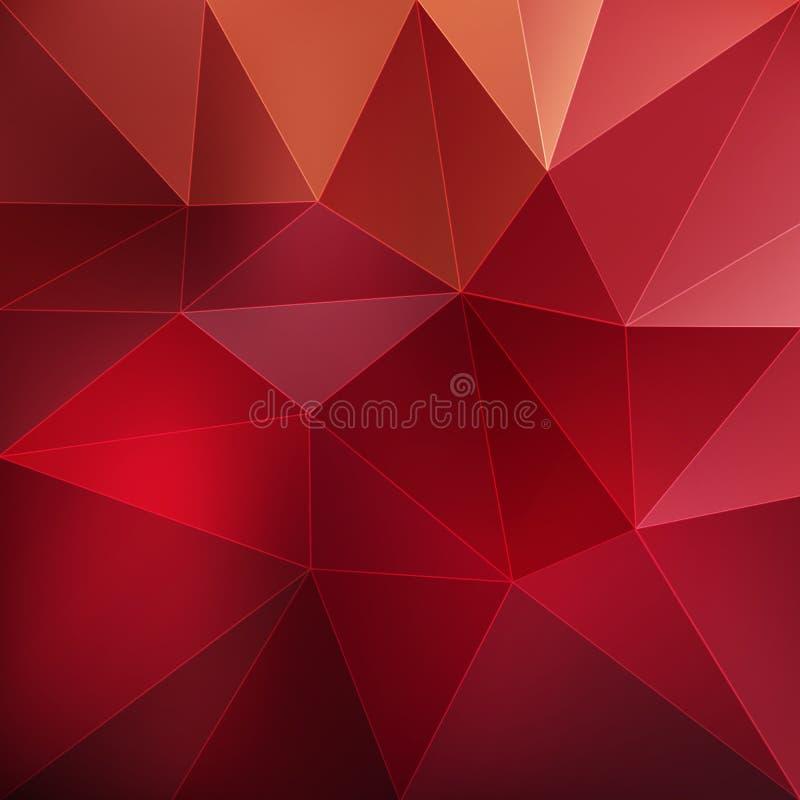 几何多角形背景 皇族释放例证