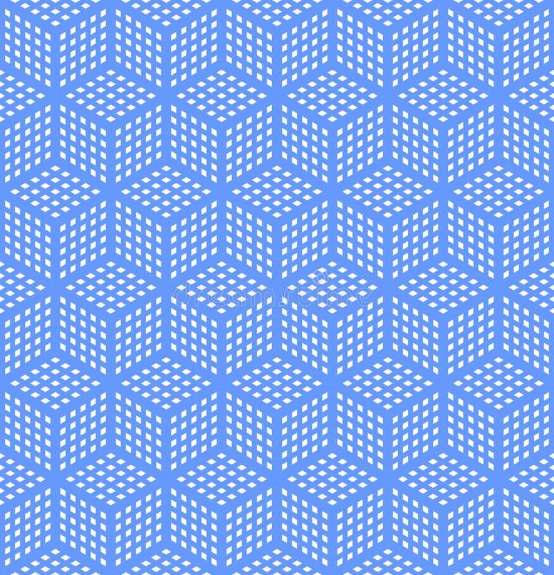 几何幻觉光学无缝的纹理 向量例证