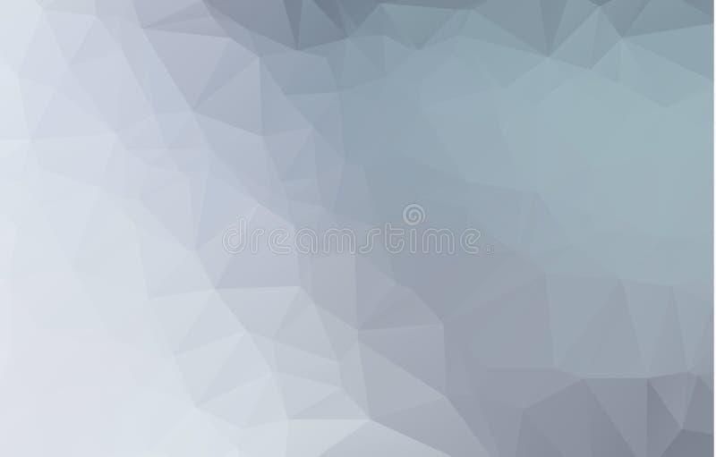 几何形状的抽象减速火箭的样式 五颜六色的梯度马赛克背景 几何行家三角背景 库存例证