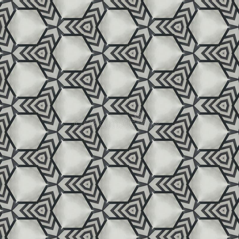 从几何形状的抽象样式背景设计 向量例证