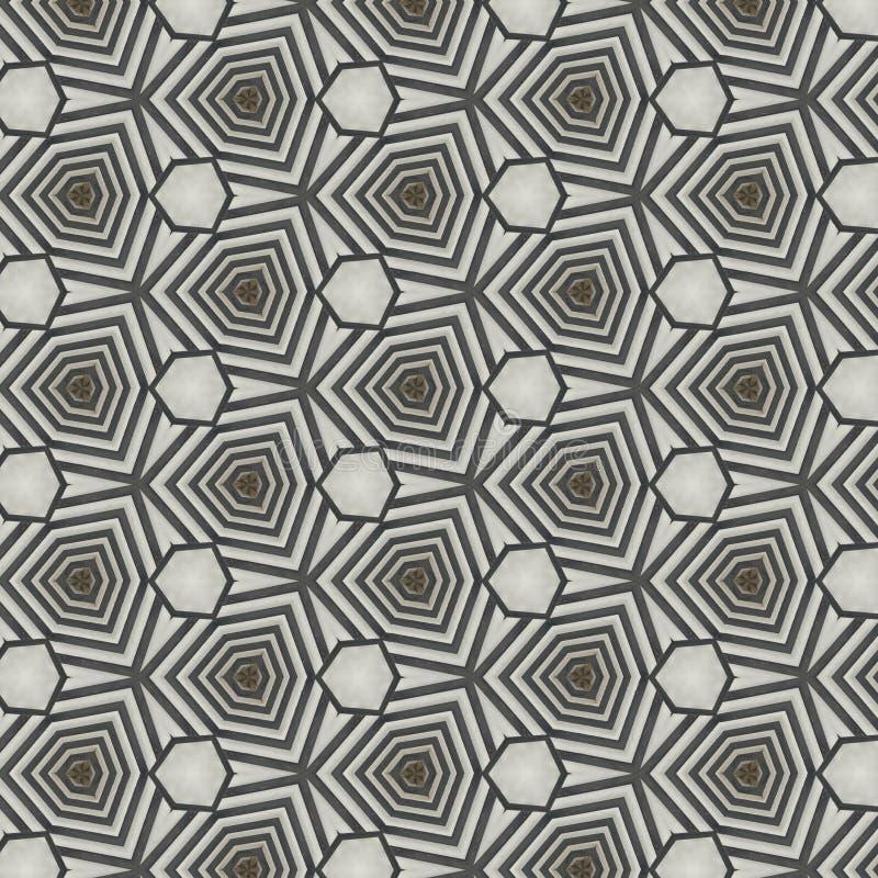 从几何形状的抽象样式背景设计 皇族释放例证
