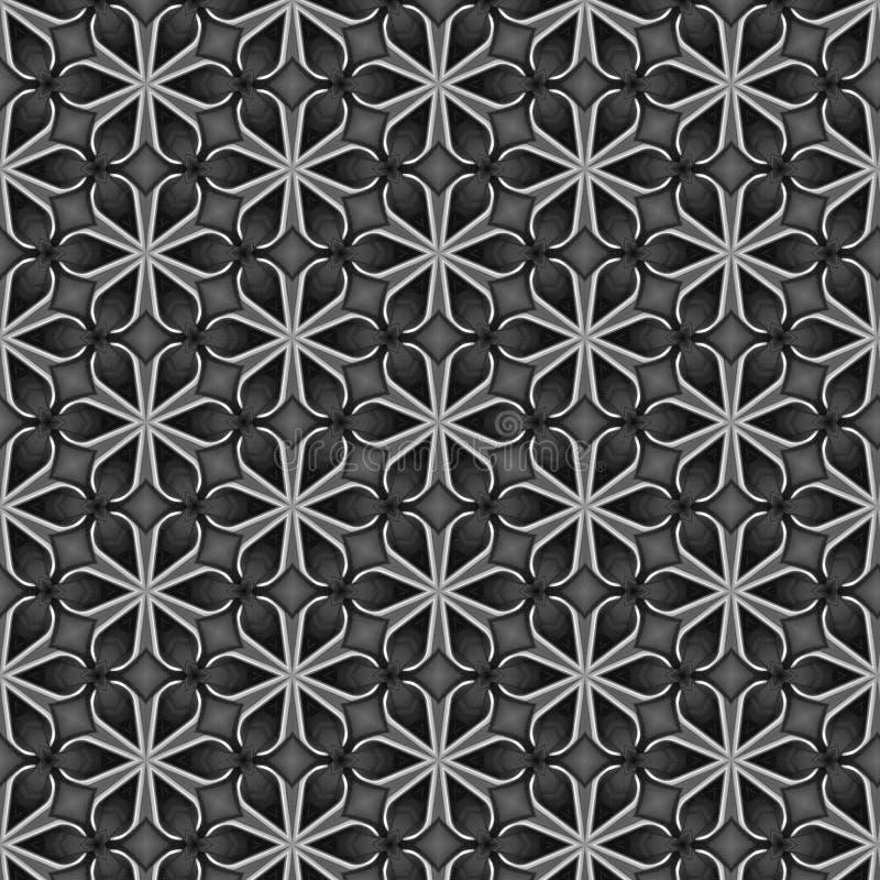 从几何形状的抽象样式设计背景 库存例证