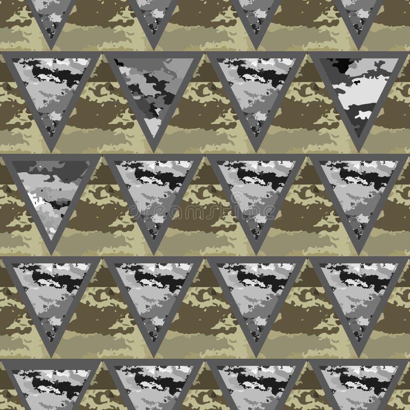 Download 几何抽象无缝的camo 向量例证. 插画 包括有 隐瞒, 森林, 概念, 军事, 材料, 投反对票, 伪装 - 62538770