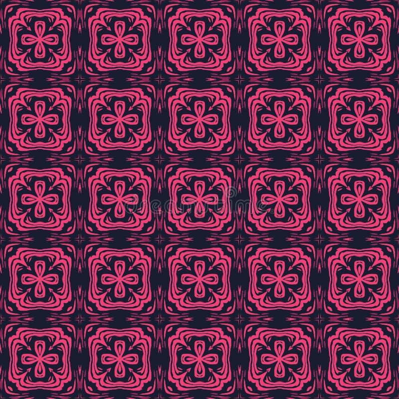 几何抽象样式背景和纹理 库存例证