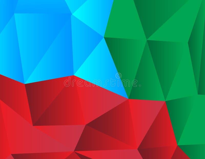 几何抽象的背景 皇族释放例证